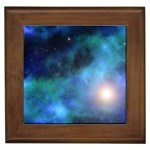 Amazing Universe Framed Ceramic Tile