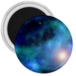 Amazing Universe 3  Button Magnet