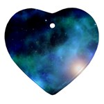 Amazing Universe Heart Ornament