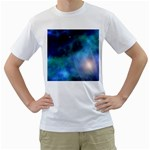 Amazing Universe Men s Two-sided T-shirt (White)
