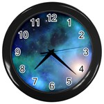 Amazing Universe Wall Clock (Black)