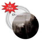 Ghosts in the Machine Goth Horror 2.25  Button (10 pack)