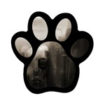 Ghosts in the Machine Goth Horror Magnet (Paw Print)