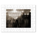 Ghosts in the Machine Goth Horror Jigsaw Puzzle (Rectangular)