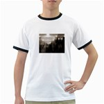 Ghosts in the Machine Goth Horror Ringer T