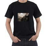 Ghosts in the Machine Goth Horror Black T-Shirt