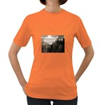 Ghosts in the Machine Goth Horror Women s Dark T-Shirt