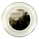 Ghosts in the Machine Goth Horror Porcelain Plate