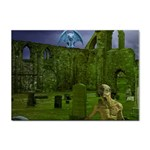 Gothic Fantasy Graveyard Sticker A4 (10 pack)