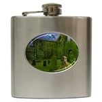 Gothic Fantasy Graveyard Hip Flask (6 oz)