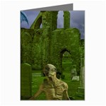 Gothic Fantasy Graveyard Greeting Card