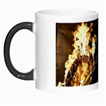 Dark Motorcycle Demon on Fire Morph Mug