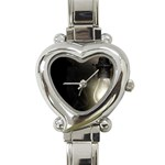 Goth Haunted House Lightbulb Heart Italian Charm Watch