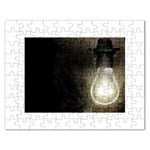 Goth Haunted House Lightbulb Jigsaw Puzzle (Rectangular)