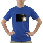 Goth Haunted House Lightbulb Dark T-Shirt