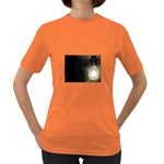 Goth Haunted House Lightbulb Women s Dark T-Shirt