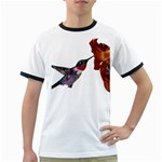 Ruby Throated Hummingbird Ringer T