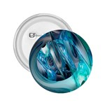 Blue and Silver Twisted Future Fantasy 2.25  Button