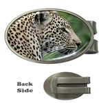 Leopard 2 Money Clip (Oval)