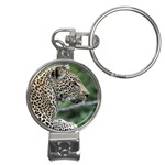 Leopard 2 Nail Clippers Key Chain
