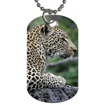 Leopard 2 Dog Tag (One Side)