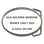 OLD GOLFERS WISDOM: Belt Buckle