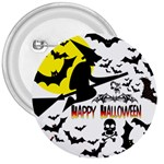 Happy Halloween Collage 3  Button