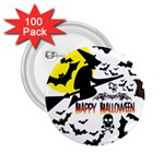 Happy Halloween Collage 2.25  Button (100 pack)
