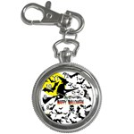 Happy Halloween Collage Key Chain Watch
