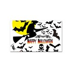 Happy Halloween Collage Sticker (Rectangle)