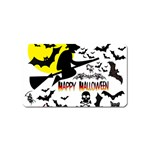 Happy Halloween Collage Magnet (Name Card)