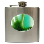 Punk Hand on Fingerprint Fantasy Hip Flask (6 oz)