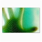 Punk Hand on Fingerprint Fantasy Postcard 4 x 6  (Pkg of 10)