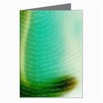 Punk Hand on Fingerprint Fantasy Greeting Cards (Pkg of 8)