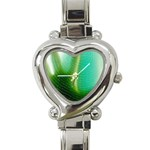 Punk Hand on Fingerprint Fantasy Heart Italian Charm Watch