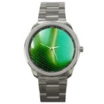 Punk Hand on Fingerprint Fantasy Sport Metal Watch