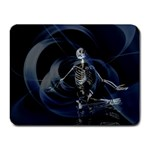 Rising Skeleton on Black Goth Punk Small Mousepad