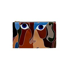 Abstract God Cosmetic Bag (small) by AlfredFoxArt