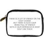 Energy in golf Digital Camera Leather Case