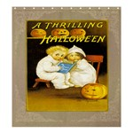 A Thrilling Halloween Shower Curtain 66  x 72  (Large)