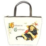 Hallowe en Greetings Bucket Bag
