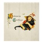 Hallowe en Greetings Shower Curtain 66  x 72  (Large)