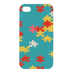 Puzzle Pieces Apple Iphone 4/4s Premium Hardshell Case