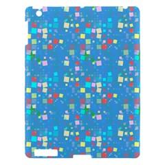 Colorful Squares Pattern Apple Ipad 3/4 Hardshell Case