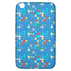Colorful Squares Pattern Samsung Galaxy Tab 3 (8 ) T3100 Hardshell Case
