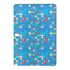 Colorful Squares Pattern Samsung Galaxy Tab Pro 10 1 Hardshell Case