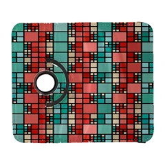 Red And Green Squares Samsung Galaxy S  Iii Flip 360 Case