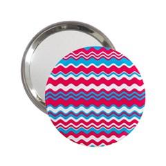 Waves Pattern 2 25  Handbag Mirror