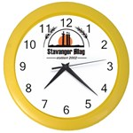 Basic logo Color Wall Clock