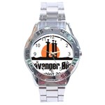 Basic logo Stainless Steel Analogue Men's Watch
